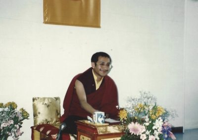 Ponlop Rinpoche in Chapel Hill, 1992
