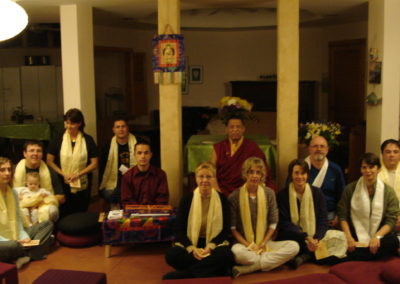 Khenpo Ugyen and group, 2007