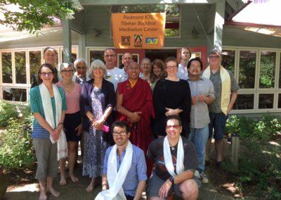 Lama Karma with Group, 2015