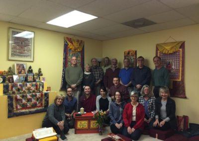 Lama Jinpa and group, 2015