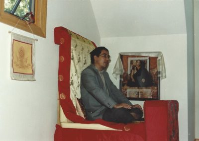 Traleg Rinpoche in NC, 1989