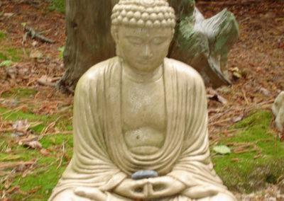 Garden Buddha at Geoff's