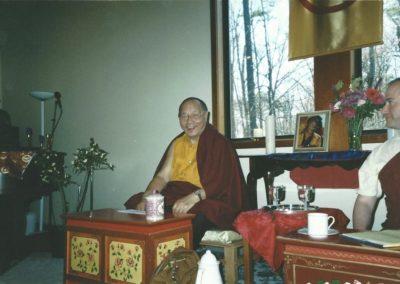 Khenpo Karthar Rinpoche in Chapel Hill, 2005