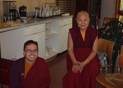 Lama Jinpa and Lama Karuna, 2013
